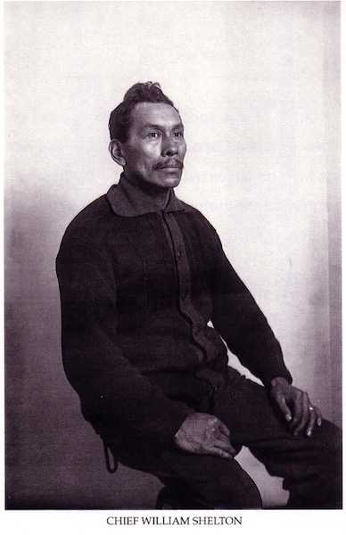 Early Langley Native American William Shelton